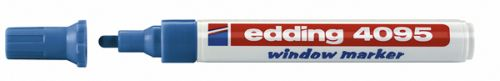 Edding 4095 Windowmarker blau