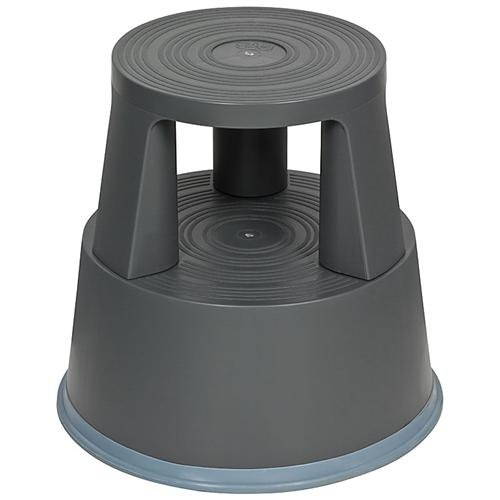 itenga rollhocker elefantenfu grau kunststoff tritthocker arbeitshocker ebay. Black Bedroom Furniture Sets. Home Design Ideas