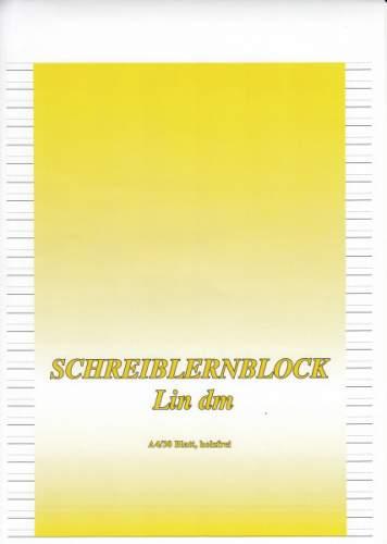 #10xSchreiblernblock A4 Lin.DM