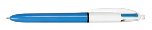 4-Farb-Druckkugelschreiber BIC® 4 Colours, 0,4 mm, bl, s...