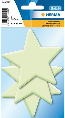 HERMA Leuchtsticker HOME Sterne Groß