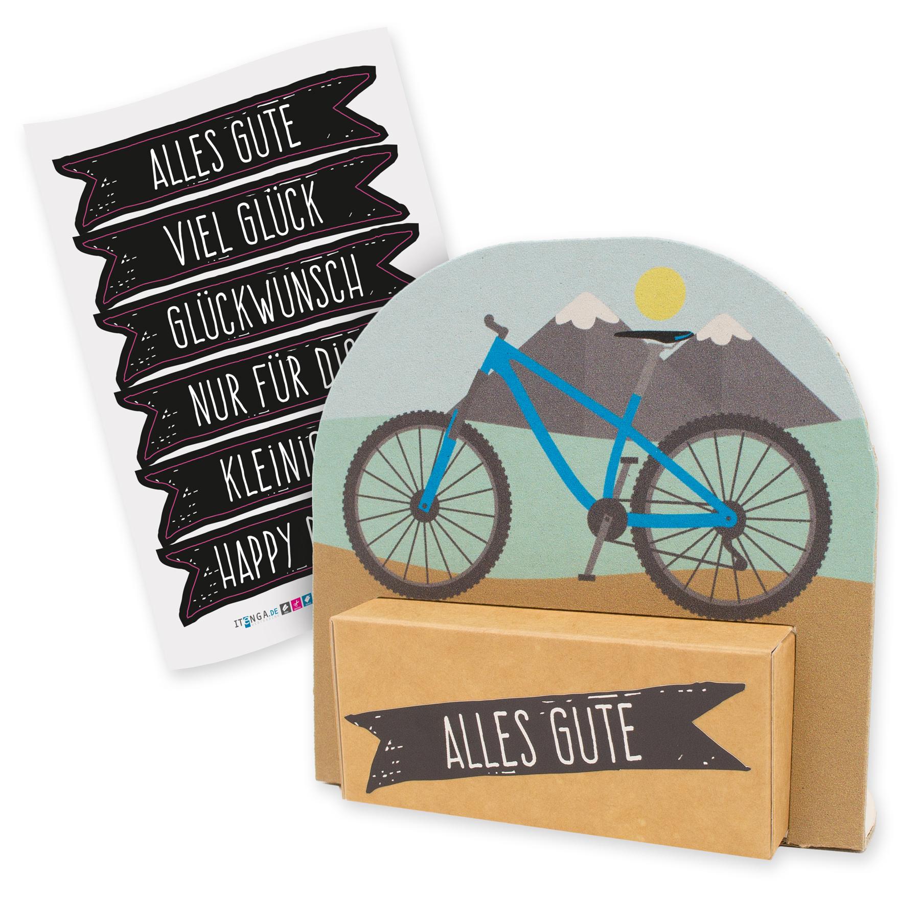 itenga Geldgeschenkverpackung Fahrrad Mountainbike moder...