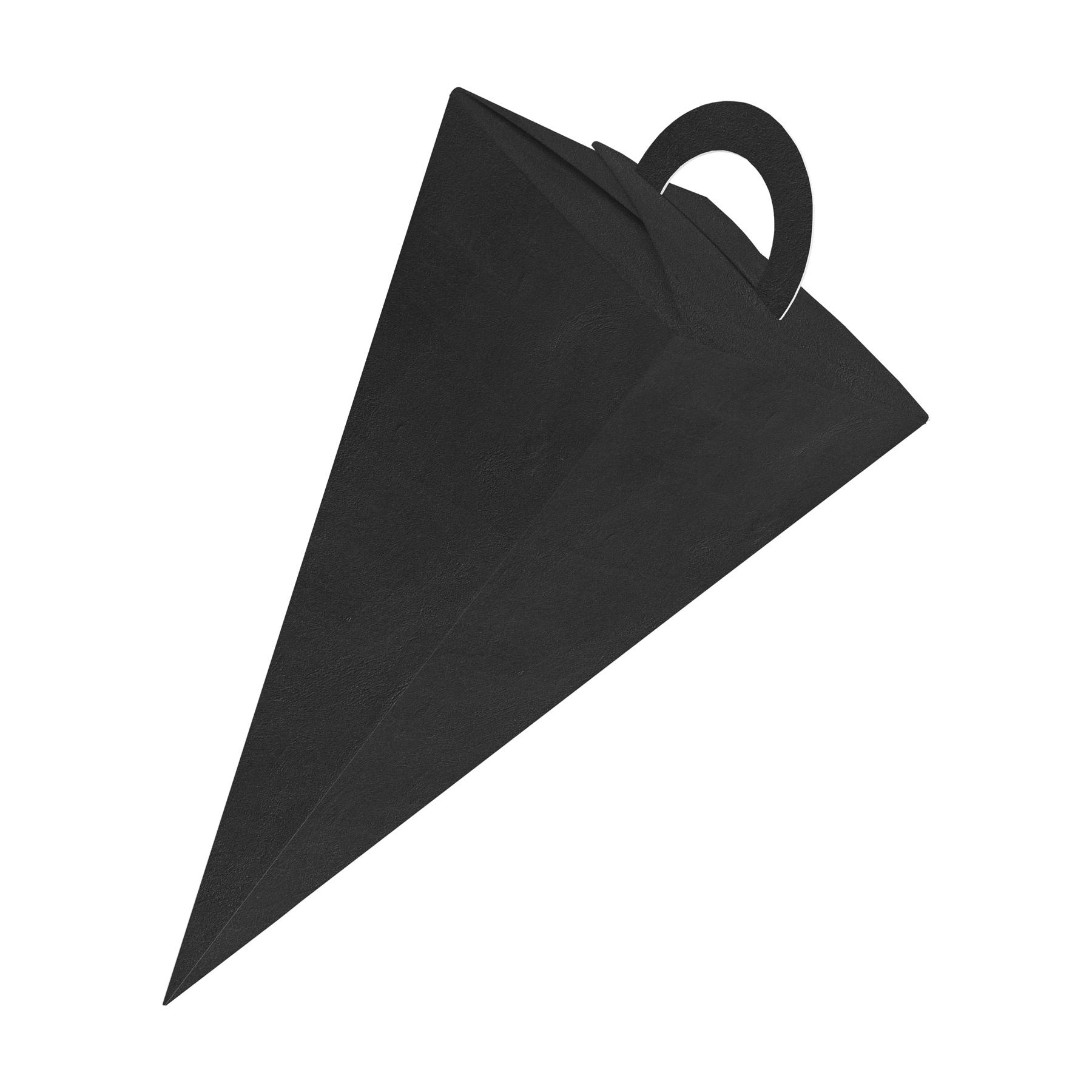itenga Geschenktüte Schultüte Zuckertüte mit Griff 14cm Rosa Geschenkverpackung