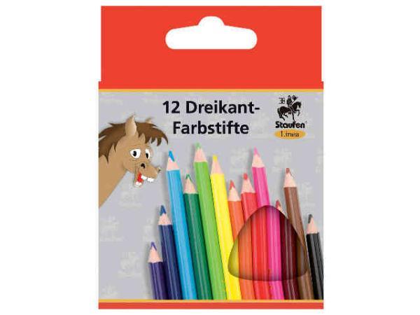Farbstift kurz 12er-Papp- etui Linea