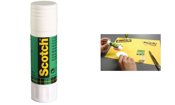3M Scotch Standard-Klebestift, Inhalt: 8g