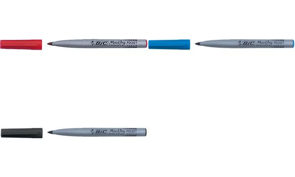BIC Permanent-Marker Marking Fine ECOlutions, rot