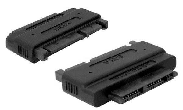 shiverpeaks BASIC-S SATA Micro Adapter, schwarz
