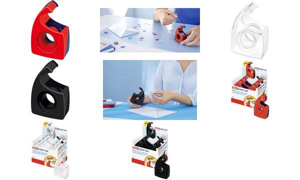 #12xtesa Easy Cut Handabroller, transparent, unbestückt,...
