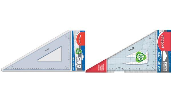 Maped Zeichendreieck Geometric 60 Grad, Kathetenlänge:21...