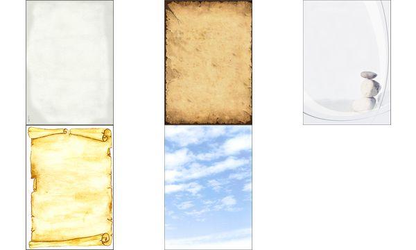 sigel Design-Papier, DIN A4, 90 g/qm, Motiv History