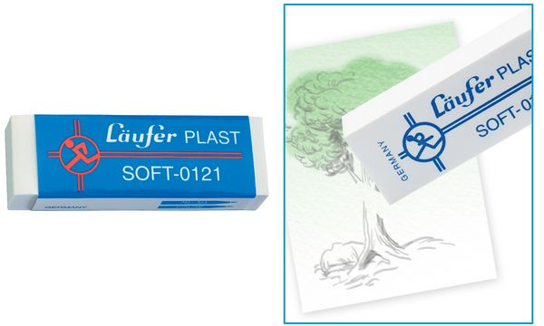 Läufer Kunststoff-Radierer PLAST SOFT