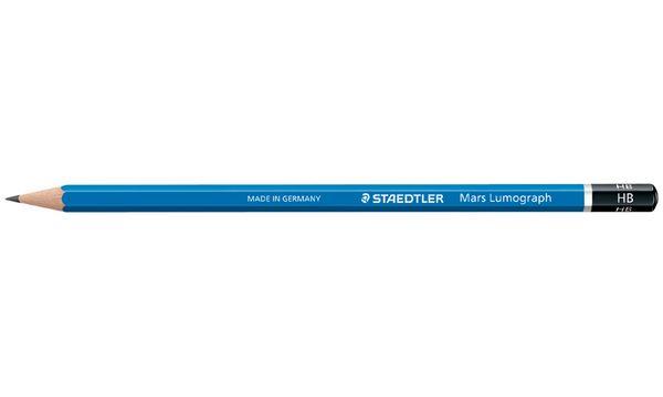 STAEDTLER Bleistift Mars Lumograph, Härtegrad: 2B