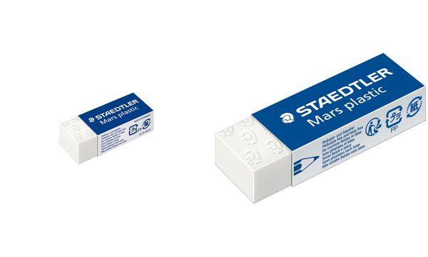 STAEDTLER Kunststoff-Radierer Mars plastic mini, weiß