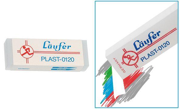 Läufer Kunststoff-Radierer PLAST-0140, transparent