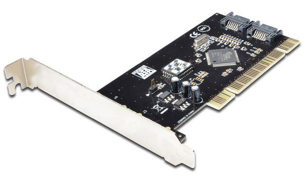 DIGITUS Serial ATA 150 PCI RAID Controller, 2 Port