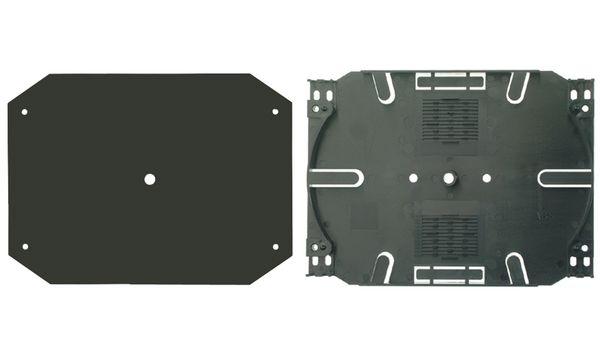 Telegärtner LWL-Abdeckplatte für Spleißkassetten