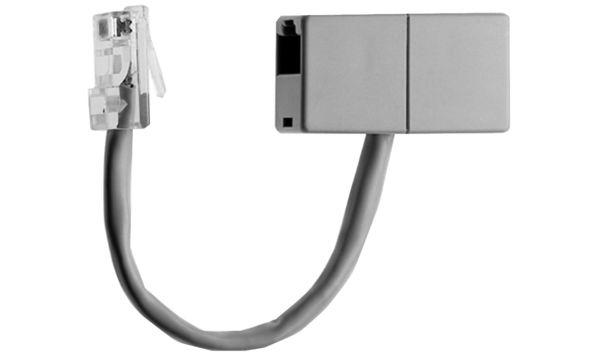 Telegärtner ISDN Anschlußdoppler RJ45 8(4)Stecker-2xRJ45...
