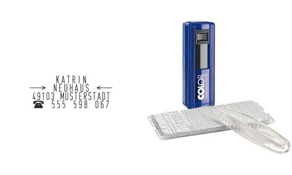 COLOP Typensatz TS 35, Schrifthöhe: 3,5 mm, 320 Zeichen