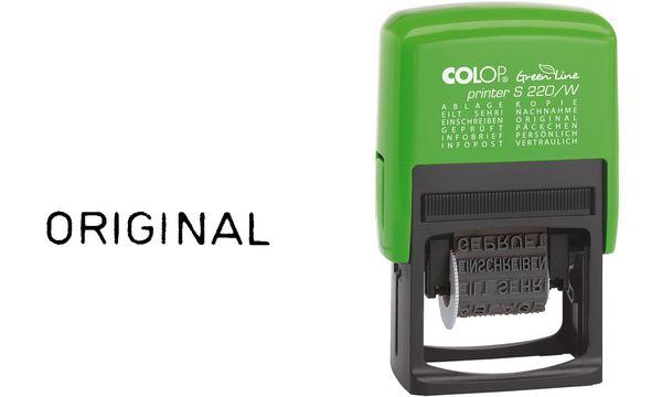 COLOP Wortbandstempel Green Line Printer S220/W