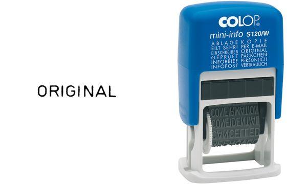 COLOP Wortbandstempel Mini Dater S120/W
