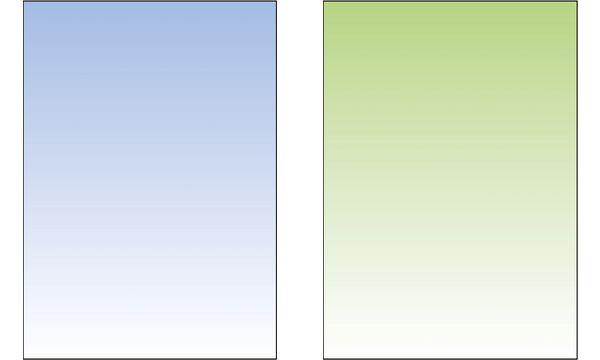 sigel Design-Papier, DIN A4, 90 g/qm, Farbverlauf lindgrün