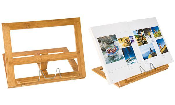 WEDO Buchständer, aus Bambus