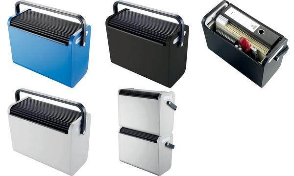 helit Hängeregistratur-Box Mobilbox, schwarz