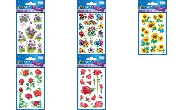 AVERY Zweckform Z-Design Sticker Rosen Efeu