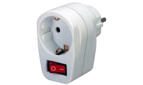 brennenstuhl Energiespar-Steckdose, Schutzkontakt, weiß