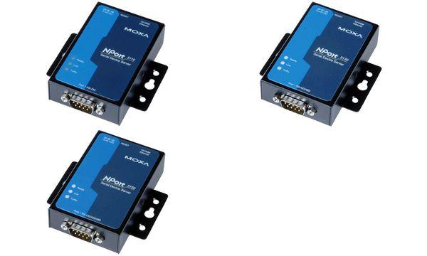 MOXA Serial Device Server, 1 Port, RS-232/422/485