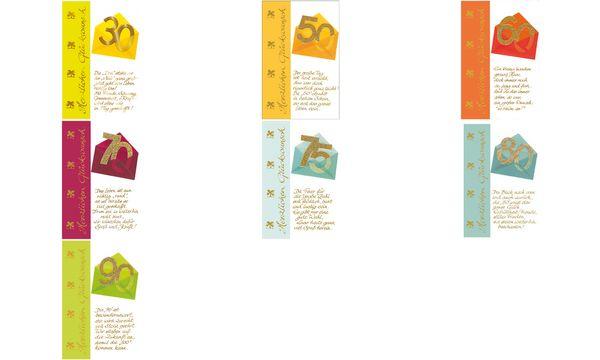 SUSY CARD Geburtstagskarte - 30. Geburtstag Briefumschlag