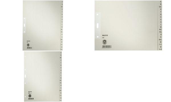 #10xLEITZ Tauenpapier-Register, A-Z, A4 Überbreite, 20-t...