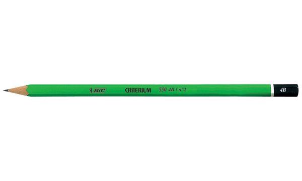 BIC Bleistift Criterium 550, Härtegrad: 3B, sechseckig