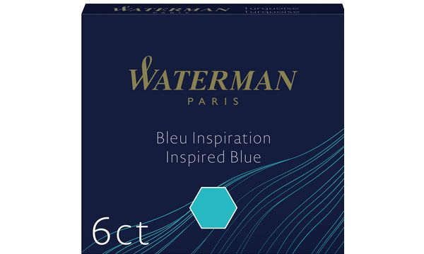 WATERMAN Standard Tintenpatronen, grün