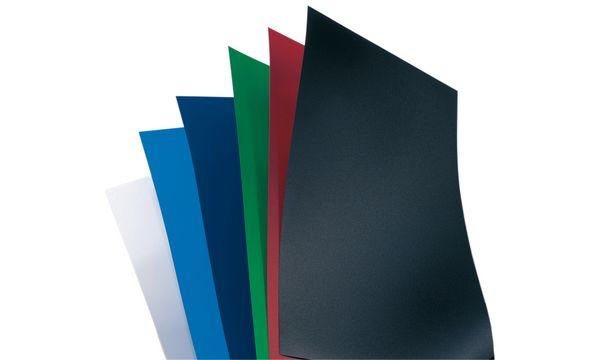 GBC Einbanddeckel PolyOpaque, DIN A4, 0,30 mm, dunkelblau