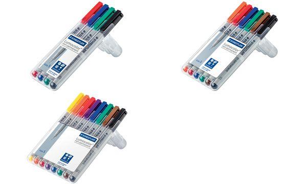 STAEDTLER Lumocolor NonPermanent-Marker 311S, 8er Etui
