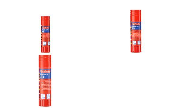 herlitz Klebestift, 8 g, lösungsmittelfrei, farblos