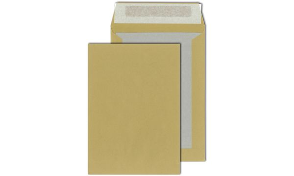 MAILmedia Papprückwandtaschen C4, ohne Fenster, 110 g/qm