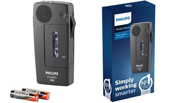 PHILIPS Diktiergerät Pocket Memo Classic LFH0388