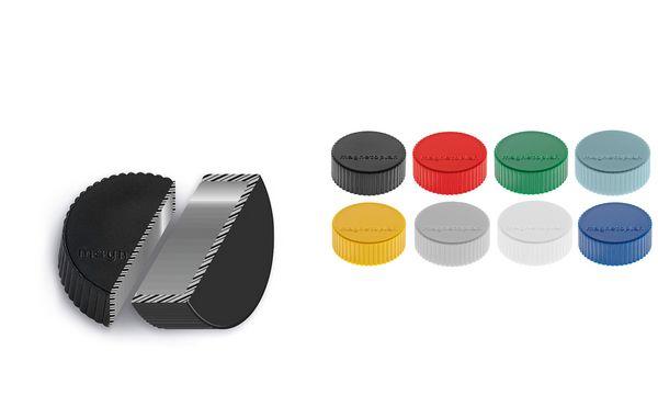 magnetoplan Discofix Rundmagnet magnum, schwarz