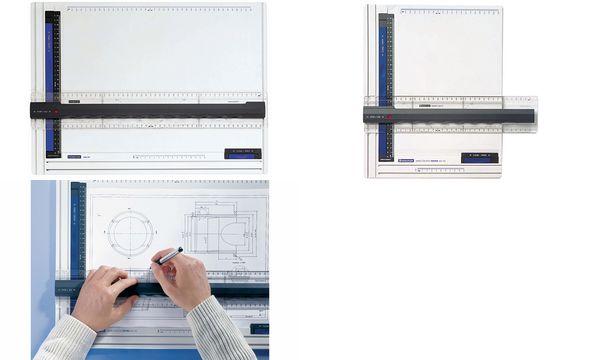 STAEDTLER Zeichenplatte Mars, DIN A3, weiß/anthrazit/blau