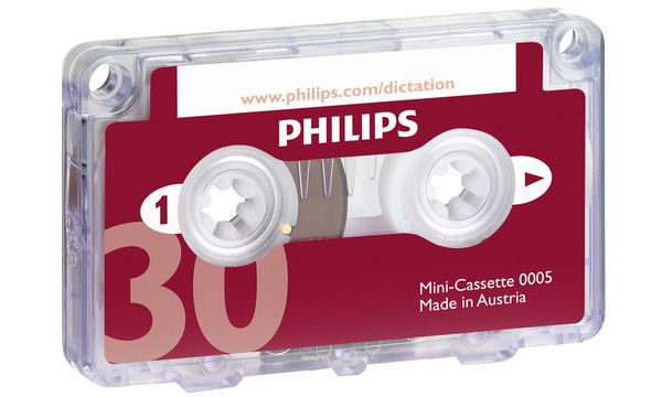 PHILIPS Mini Kassette LFH0005, 30 Minuten