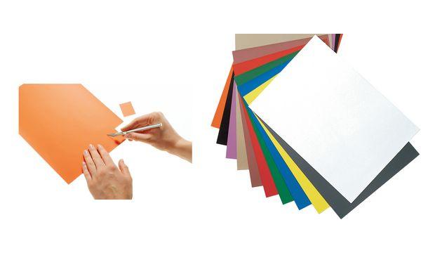 magnetoplan Magnetpapier-Bogen DIN A4, grau