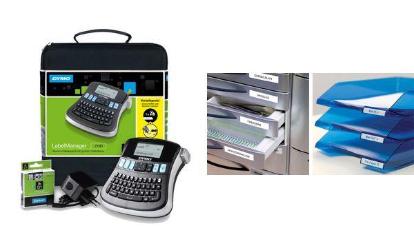 DYMO Tisch-Beschriftungsgerät LabelManager 210D, im Ko...