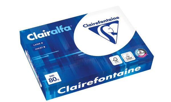 Clairalfa Multifunktionspapier, DIN A4, 110 g/qm, extra ...