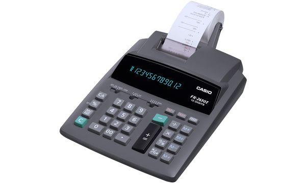 CASIO druckender Tischrechner FR-2650 T