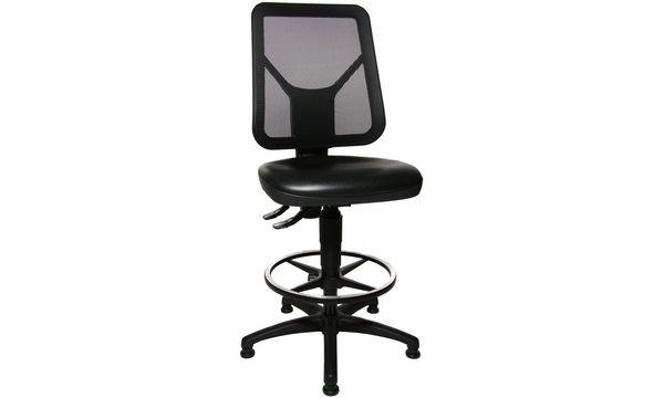Topstar Arbeitsdrehstuhl TEC 80 PK Counter, schwarz