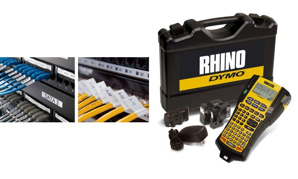 DYMO Industrie-Beschriftungsgerät RHINO 5200, im Koffer