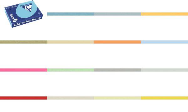 Clairalfa Multifunktionspapier Trophée, A4, 160 g/qm, eosin
