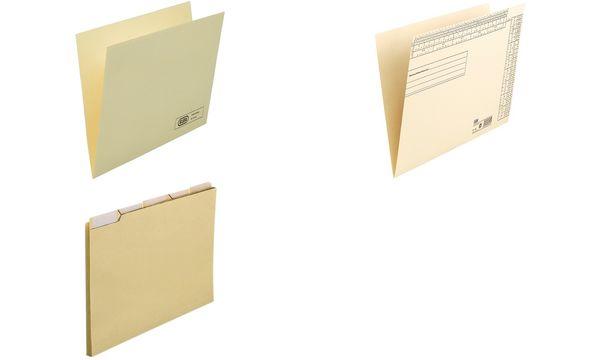 #50xELBA Einstellmappe mit Organisationsdruck - Kraftkarton
